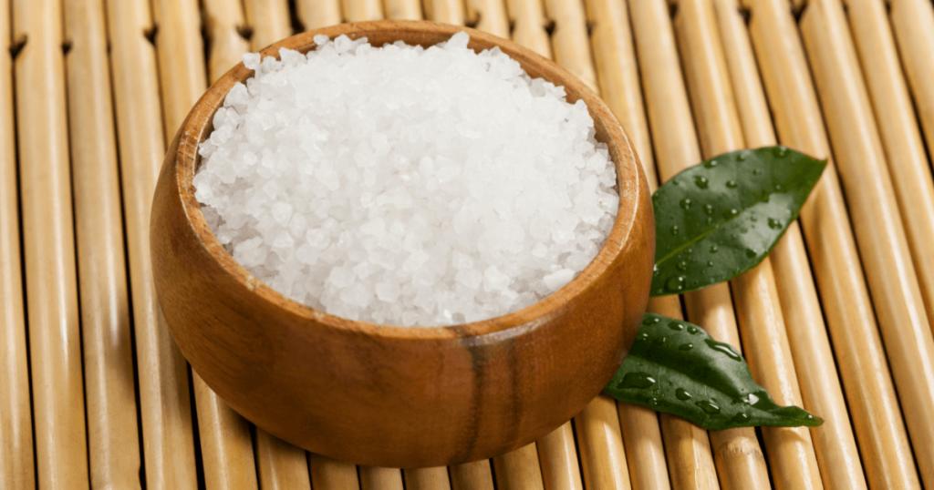 víz és só az életépítőkövei
